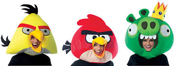 Angry Birds Halloween Costume Birds Masks