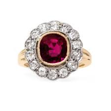 detailed engagement rings beautifully detailed edwardian ruby ring cardinal falls