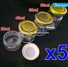 grossiste contenant verre effacer divers taille bocal en verre pour miel cornichons pots de