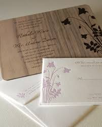 wooden wedding invitations wooden wedding invitations