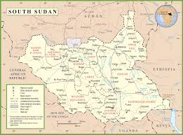 Sudan Africa Map by South Sudan Maps Maps Of South Sudan