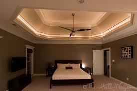 master bedroom accent with playful ceiling contemporary ideas
