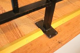 Laminate Flooring Transition Strips Must Add Fabric Softener Finishing Laminate Edges Under A Railing