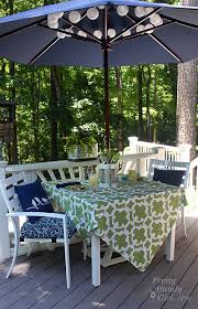 Furniture How To Setting Lowes Dressing Up A Patio Table A Lowe U0027s Creative Idea Pretty Handy