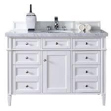 Bathroom Vanity Stone Top by James Martin Signature Vanities St James 48 In W Single Vanity
