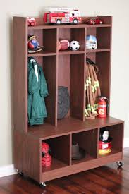 diy kids lockers white purebond children s locker diy projects