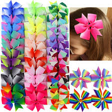 different types of hair bows soocan 40pcs kids baby 3 grosgrain ribbon