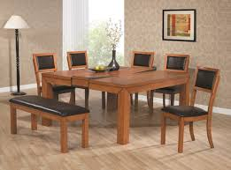 kitchen adorable modern extendable dining table wood dining