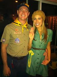 Pebbles Halloween Costume Adults Halloween Costume Idea Couples Boy Scouts Dress