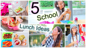 5 healthy back to lunch ideas