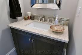 Custom Quartz Vanity Tops Bathroom Quartz Vanity Countertop Custom Sink Installation With