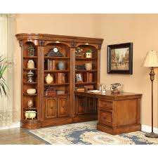 parker house huntington peninsula desk library corner unit for