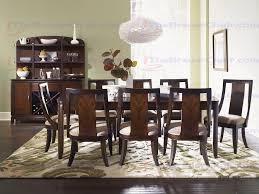 classic furniture boulevard 5 piece rectangular leg dining set in