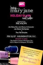 you u0027re invited bet and dc fab host u0027being mary jane u0027 holiday