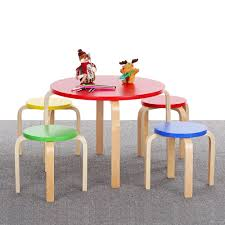 Outdoor Childrens Table And Chairs Wooden Toddler Chair Round Wooden Folding Garden Tables Wood