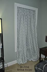 de jong dream house diy bedsheet curtains