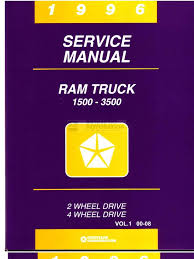 1996 dodge ram service manual 1
