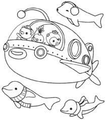 pin monster octonauts colouring pages sketch coloring
