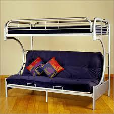 Metal Futon Bunk Beds Futon Metal Frame Bunk Bed In Silver Futonz To Go 8225