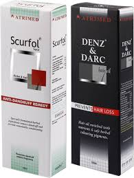 Dandruff And Hair Loss Atrimed Denz U0026 Darc Hair Oil And Scurfol Anti Dandruff Topical