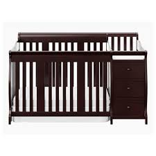 Stork Craft 4 In 1 Convertible Crib Storkcraft Portofino 4 In 1 Crib And Changer Espresso Jcpenney