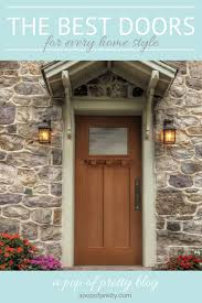 best front doors for every home style masonite a pop of pretty