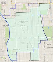 40th ward chicago map map of the ward other maps