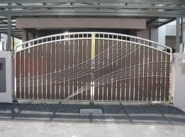 Gate Designs Gate Designs For Private House And Garage Modern - Gate designs for homes