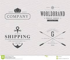 brand logo design brand and logo design tavern badge stock vector image 53767853