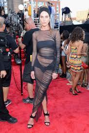 erin wasson u0027s vmas 2013 dress is her sheerest red carpet look yet