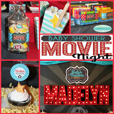 movie night party walsh theater presents madelyn u0027s baby shower