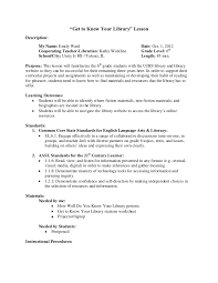 library stations lesson plan