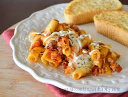 ingr馘ients cuisine baked ziti 5 ingredient cooking with libby
