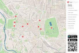 Espana Map Madrid Printable Tourist Map Sygic Travel