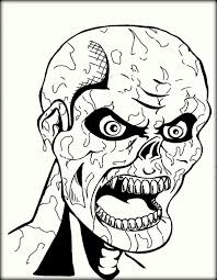 scary clown coloring pages festival collections face free for