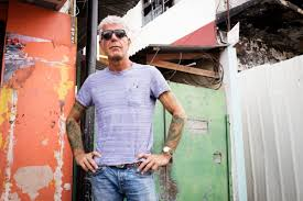 Anthony Bourdain Knife Anthony Bourdain Talks Tattoos And Reveals The One Place He Could