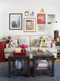 small space decorating ideas low shelves small furniture and