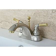 Polished Gold Bathroom Faucets by Chrome Polished Brass Widespread Bathroom Faucet Free Shipping