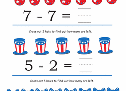kindergarten subtraction worksheets u0026 free printables education com