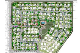residential site plan themed residential land planning projects
