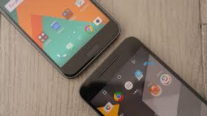nexus htc 10 vs google nexus 6p quick look android authority