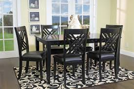 Modern Furniture For Less by Brooklyn Black Dining Room Mor Furniture For Less