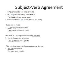 principal parts of verbs irregular verbs subject and verb