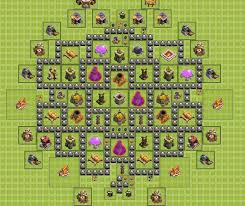 coc layout builder th8 bunker 1 0 th8 farming base