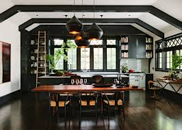 Black Lacquer Kitchen Cabinets by Black Lacquer Kitchen Cabinets Craftsman With Rectangular Dining
