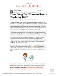 wedding gift registry finder the huffington post how do i to send a wedding gift