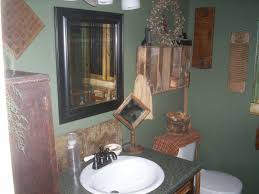 primitive bathroom ideas country bathroom ideas for small bathrooms