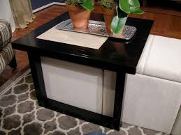 coffee table with baskets under showing photos of coffee tables with basket storage underneath view