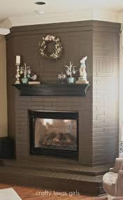how to paint an old brick fireplace dkpinball com