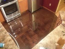 Laminate Flooring Scratch Resistant Cappuccino Metallic Epoxy With Scratch Resistant Sealer Epoxy